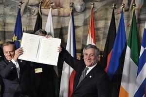 歐盟慶結盟60周年籲團結