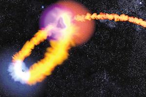 黑洞吞噬恆星NASA動畫展示天體崩解景象