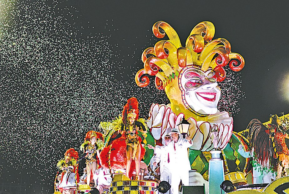 里約熱內盧嘉年華是世界上最大、最奔放的嘉年華。