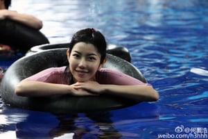 「美人魚」林允替身曝光:一位白領廣州妹