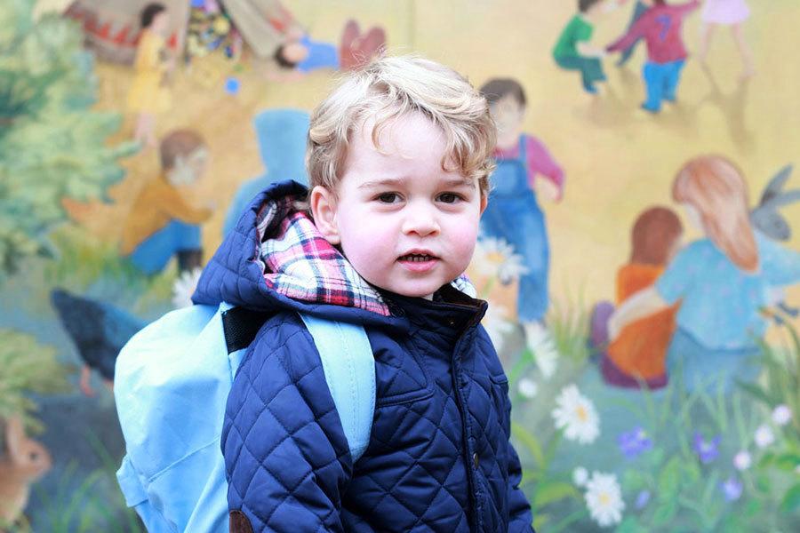 喬治王子九月上學 威廉凱特將搬回肯辛頓宮