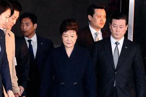 朴槿惠有滅證之虞 韓檢方正式申請批捕令