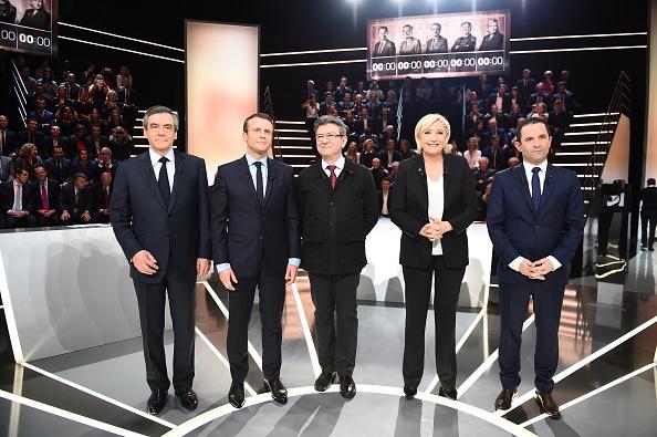 法國大選走勢 幾十年來最不可預測的大選