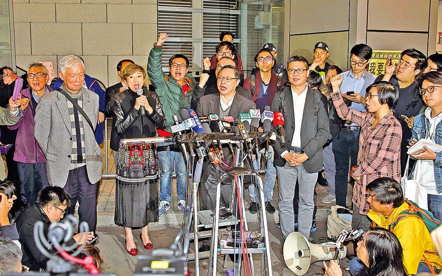 特首選舉次日 警預約拘捕佔中九人