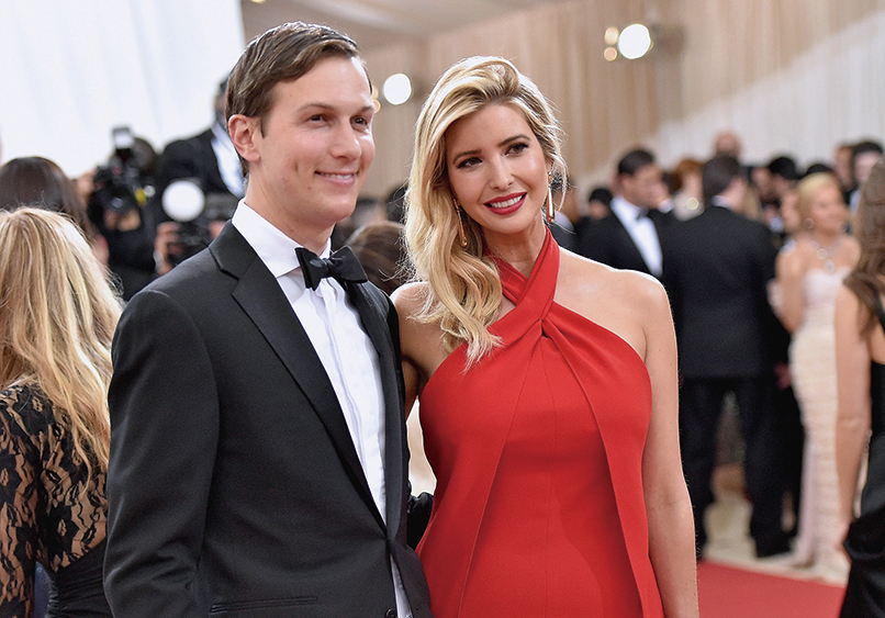 特朗普總統宣佈新設一個機構,由其女婿庫什納(Jared Kushner)領導,女兒伊萬卡也會協助推動業務。(Getty Images)