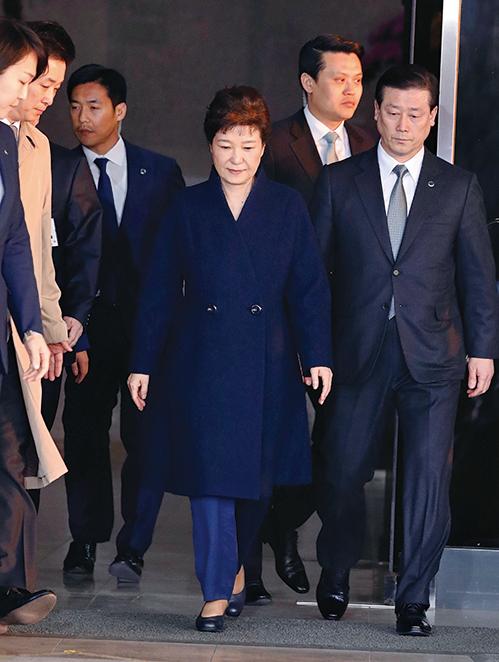 朴槿惠有滅證之虞 韓檢方正式申請逮捕令