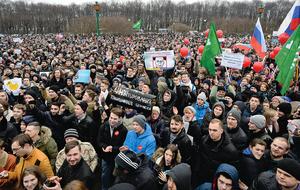 俄全國爆發大規模反腐示威