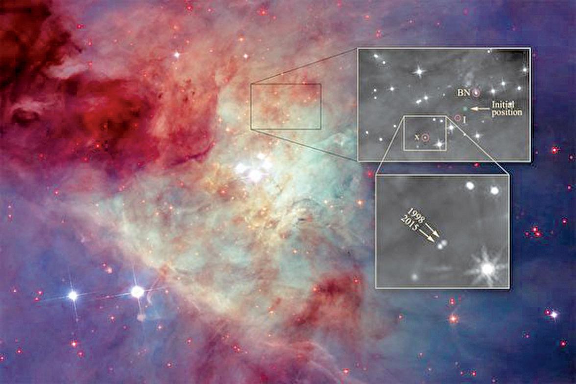 美麗星雲之中,發生著激烈的天體變化。(NASA, ESA, and Z. Levy)