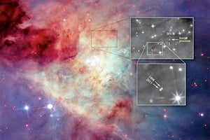 星球大戰真實上演! 三恆星衝突後相互遠離