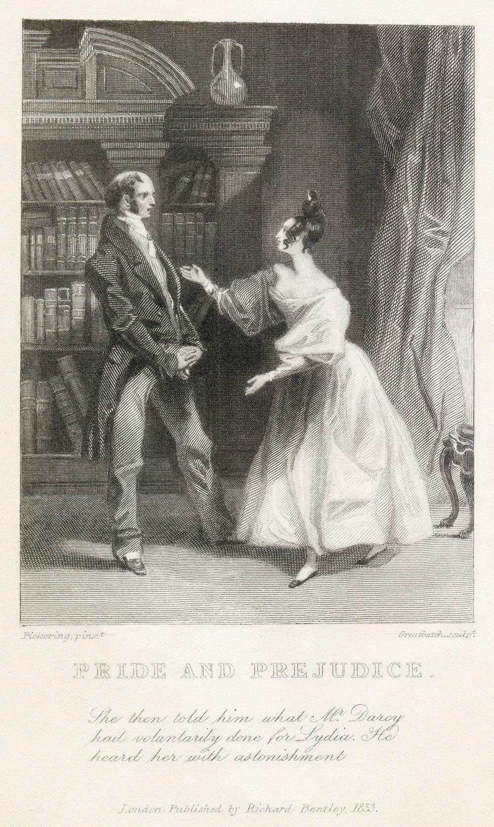 《傲慢與偏見》是珍·奧斯汀最出名的作品。講述了一個鄉紳家中五個女兒的擇偶和婚姻,小說中的五個女兒,性格各異,遇到了各式各樣的求婚者,展現了各類男女人物的性格、特徵以及他們的命運。(維基百科)