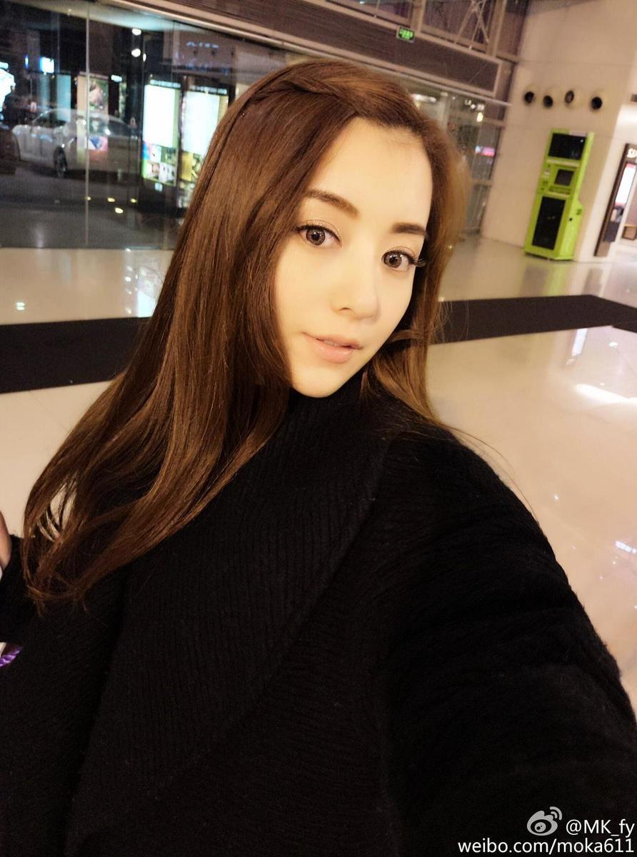 郭富城女友方媛。(方媛微博圖片)