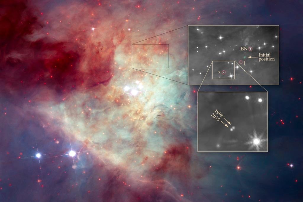 美麗星雲之中,發生著激烈的天體變化。(NASA, ESA, and Z. Levy (STScI))
