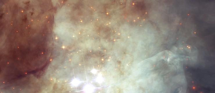 科學家推測,這些恆星從獵戶星座星雲(Orion Nebula)中心的附近空間脫離而出。(NASA, ESA, and Z. Levy (STScI))
