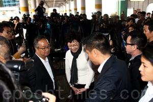 林鄭當選國際關注香港未來