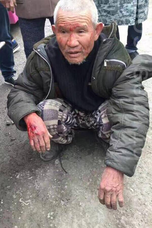 3月23日,河南商丘市梁園區徐堂村因強拆發生警民衝突,據傳有人員傷亡。(網絡圖片)
