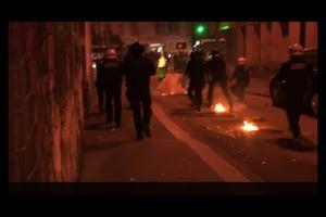 巴黎警槍殺中國男引衝突 三傷卅五被捕