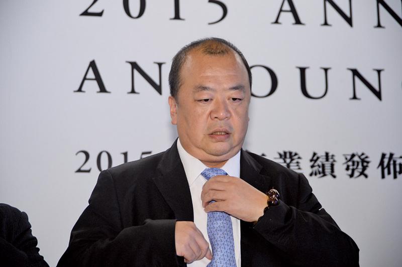 花樣年主席兼首席執行官潘軍在業績會上表示今年會安排部份資金在一二線城市增加土儲,主要在深圳,三四線城市主力去庫存。(宋祥龍/大紀元)