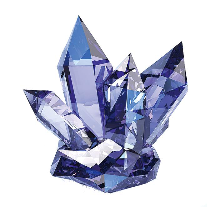 將水晶放在屋內,就能抑制潛在負能量。(網絡圖片)