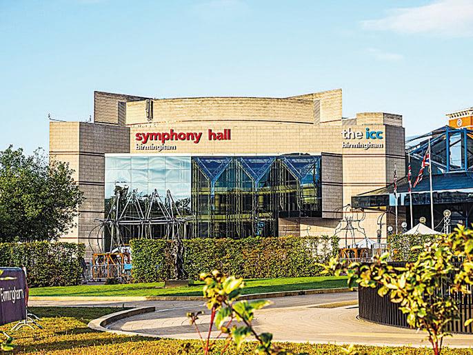 伯明翰交響樂廳——Symphony Hall (Claudiodivizia/Depositphotos)