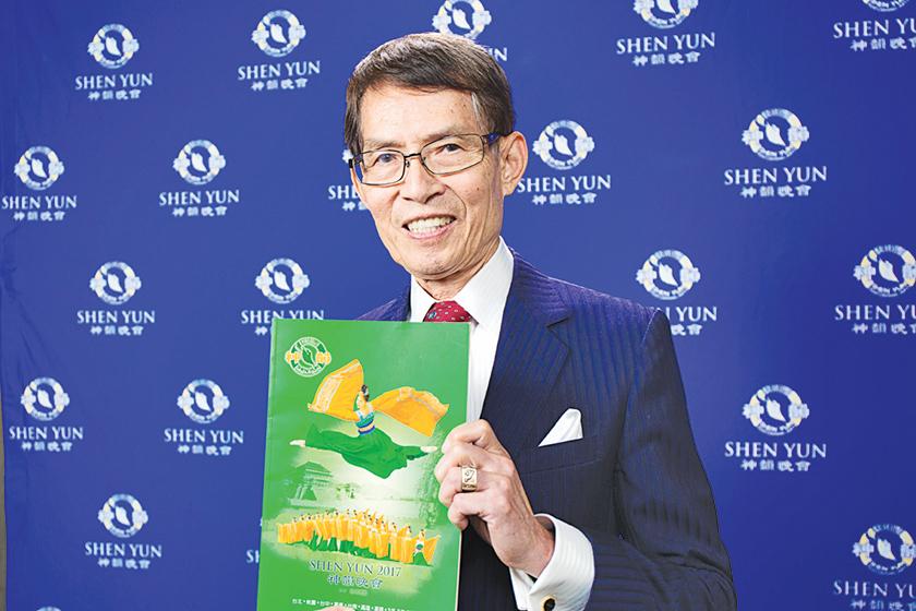 台灣跨國企業家吳庭光。(鄭順利/大紀元)