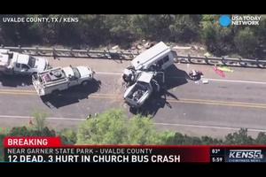 美德州重大車禍 至少十二死三人受傷