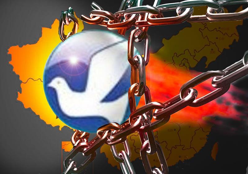 利用翻牆軟件突破封鎖,民眾可看到外面的真實世界的消息。(合成圖片)