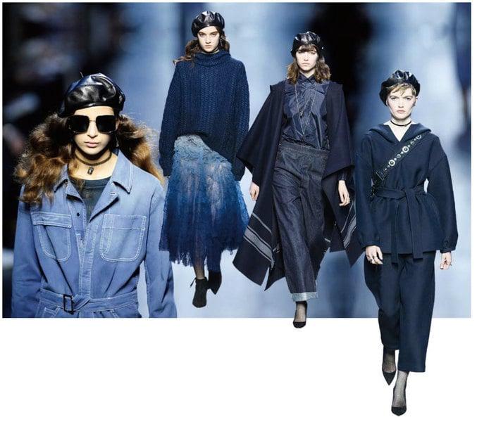 【時尚潮流】Dior 2017秋冬成衣時裝秀演繹海藍締造女性魅力