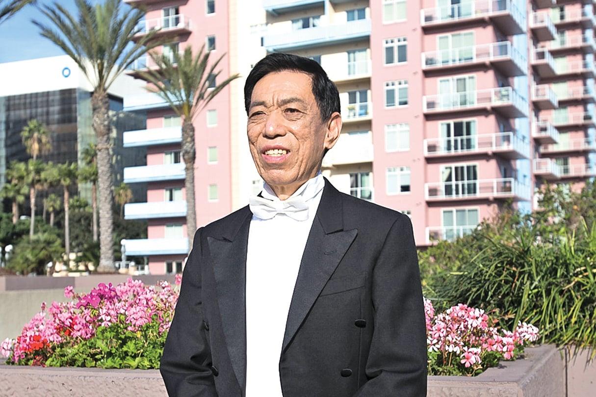 —— 中國著名男高音歌唱家關貴敏