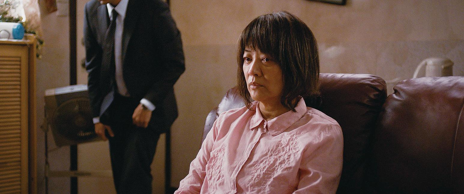 金燕玲在電影中飾演一位飽受疾病折磨的母親。