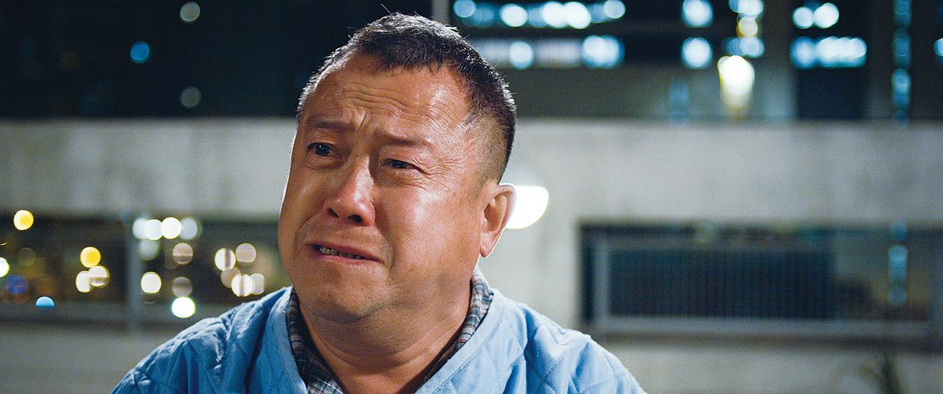 曾志偉在戲中是一位中港司機,他一直對家人懷有愧疚。