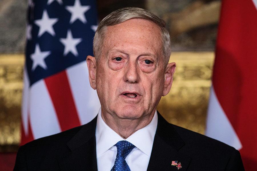 馬蒂斯警告北韓 將悉數擊落射向關島的導彈