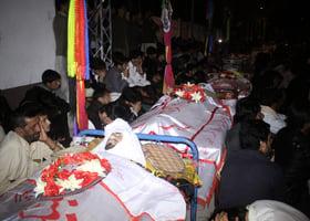 巴基斯坦市場汽車炸彈爆炸 增至廿二死七十傷