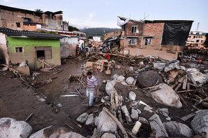 哥倫比亞土石流254死 600多人受傷失蹤
