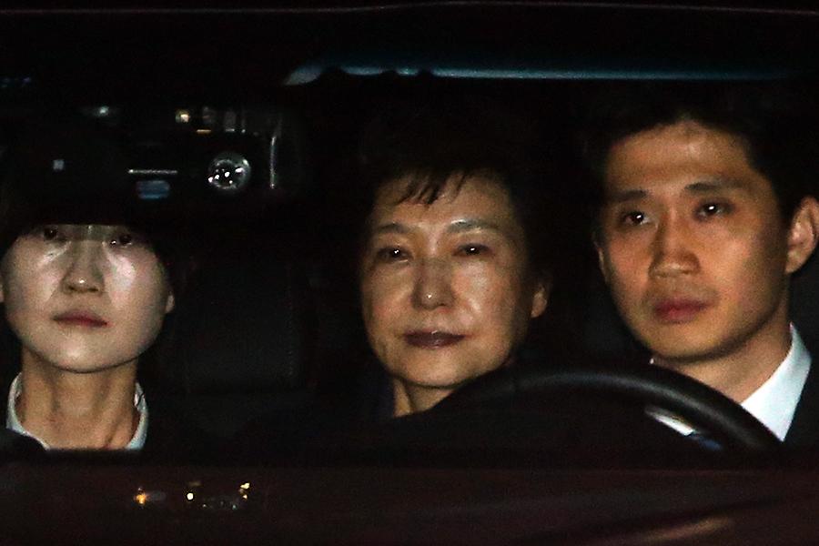 朴槿惠被逮捕 中韓兩國人熱議