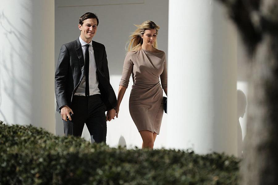 白宮幕僚財產報告 伊萬卡夫婦身價七億美元