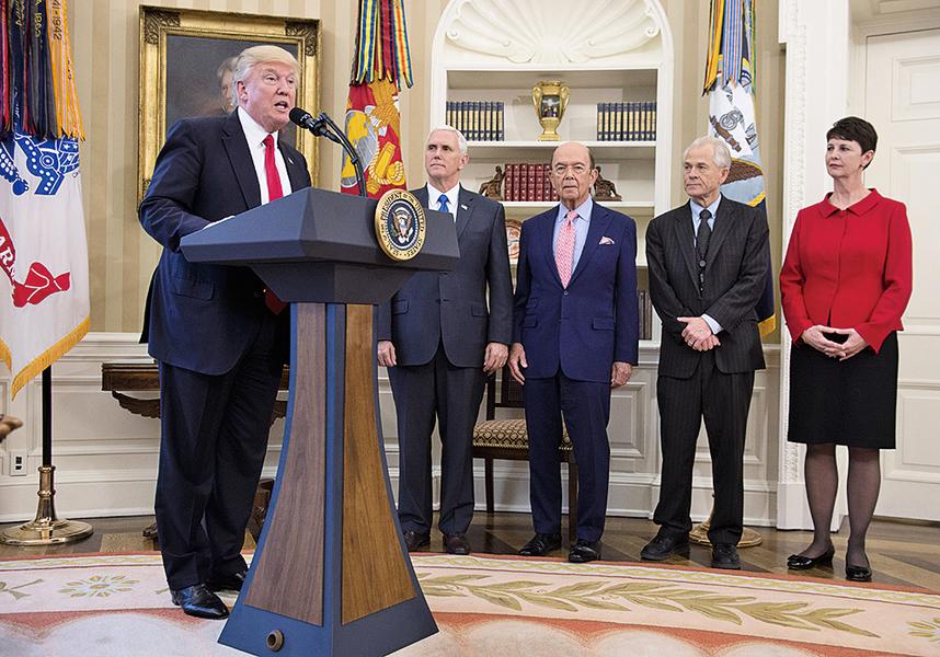 特朗普簽署2行政令打擊貿易濫用 加強反傾銷