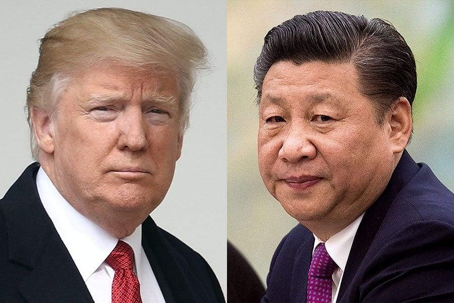 就在外界擔憂北韓25日再次進行核試驗之際,特朗普24日與習近平再次通話,商談朝核問題。外界認為,這次通話顯得非同尋常,或有精心安排的「玄機」。(NICHOLAS KAMM/AFP/Getty Images)