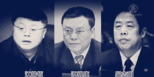 分析認為,兩會前的連串行動似乎在傳遞同樣的信息,圍剿江澤民集團最後的「老虎」正在進行中。(視像擷圖)