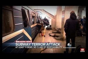 俄地鐵爆炸案增至十四死 疑犯來自吉爾吉斯
