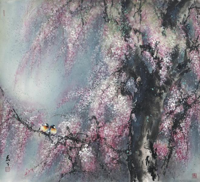 四季——春・黃磊生2011年作品。(黃磊生家屬提供)