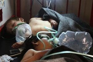 敘利亞毒氣襲擊 數百死傷包括兒童
