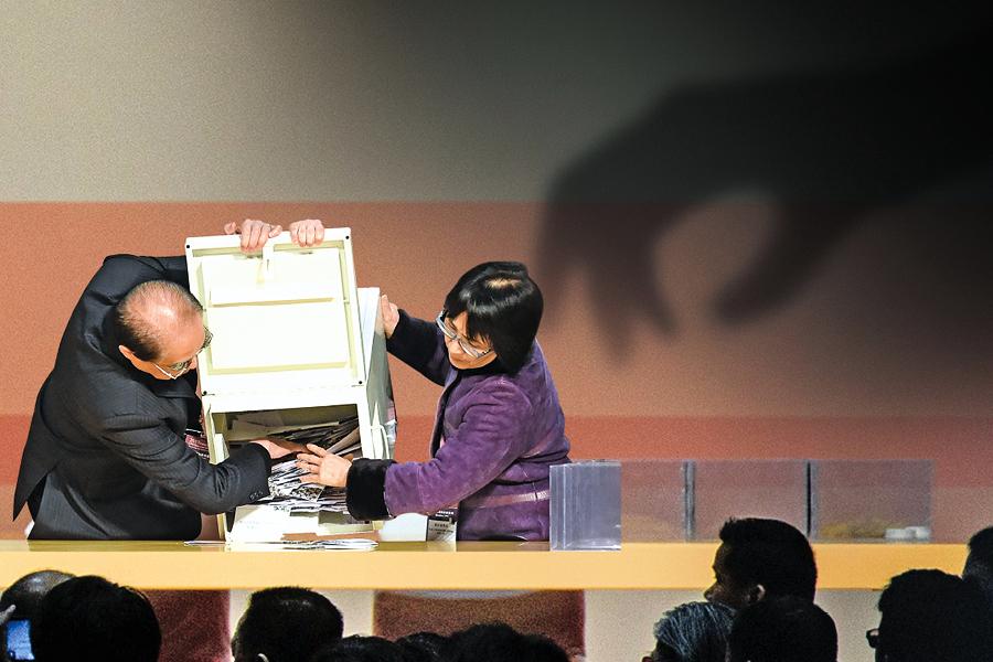 中聯辦操控選舉 證據密集曝光