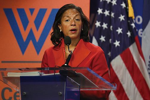 美前國家安全顧問賴斯(Susan Rice)下令披露在監聽過程中,聽到特朗普團隊成員的姓名。(AFP)