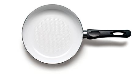 炸完東西  如何清洗油膩的炒鍋