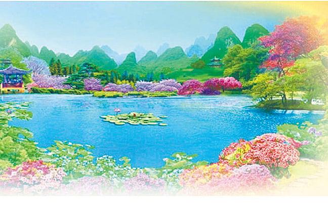 古代園林靜謐清幽,具超凡脫俗之美。