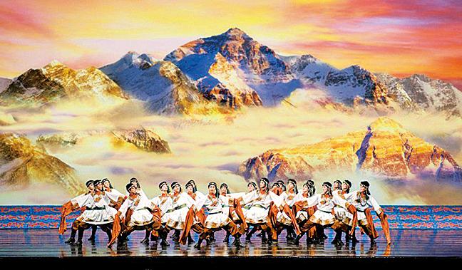 藏族所在的青藏高原。