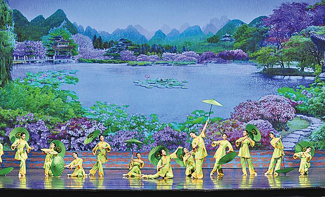 江南靈秀的山水,幽雅精緻。