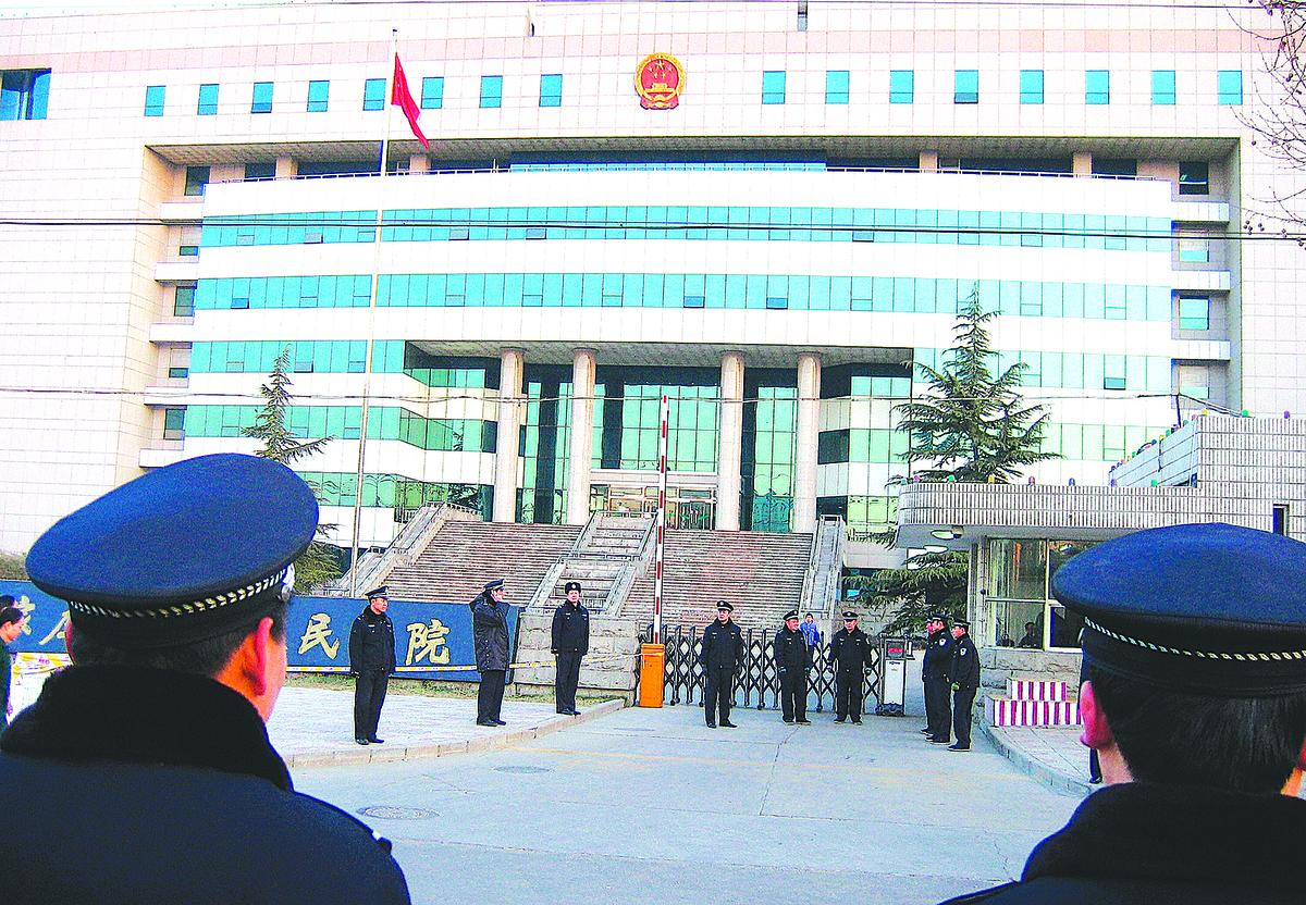 在中共統治下,司法不公,冤案遍地。(Getty Images)