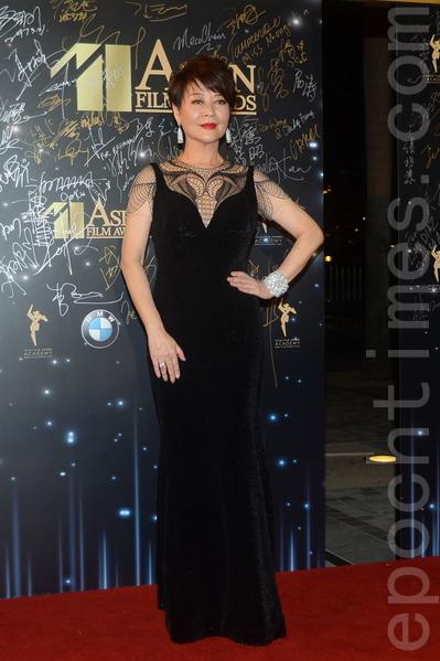 金燕玲是金像獎最佳女配角的紀錄保持者。(大紀元資料圖片)