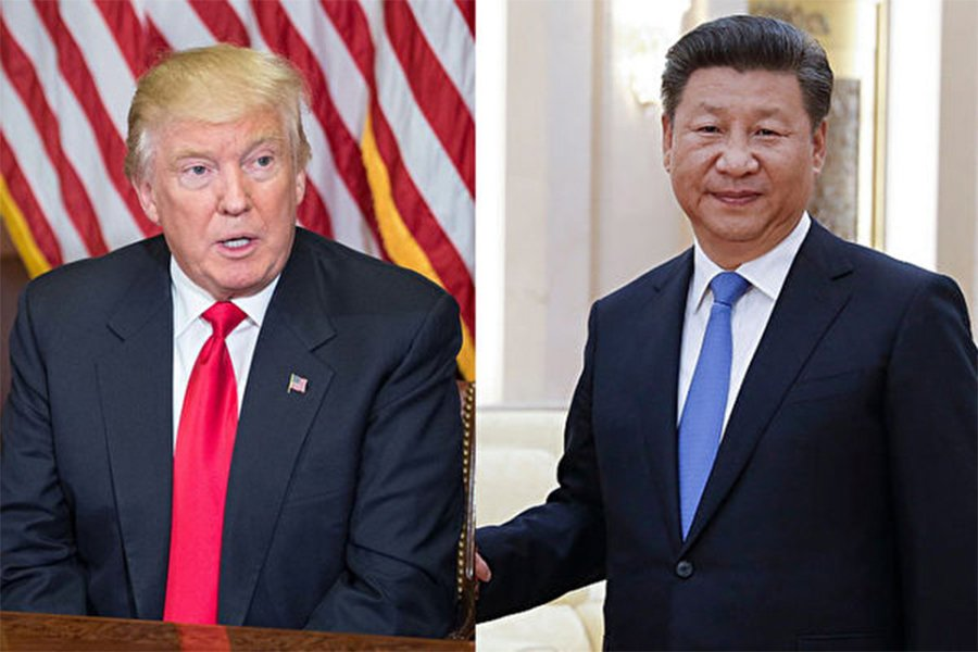 特朗普與習近平將在4月6日至7日於佛州的馬阿拉歌(Mar-a-Lago)莊園首次見面,中美經貿議題將是熱點。(NICHOLAS KAMM/AFP/Getty Images)